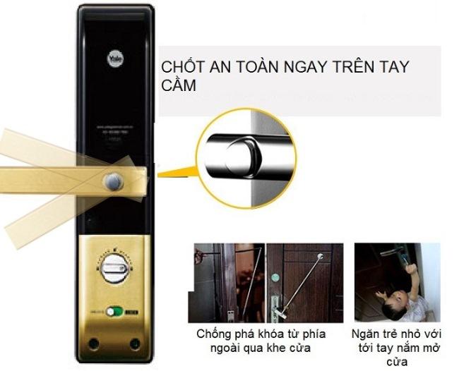 khóa cửa vân tay yale