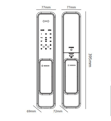 khóa điện tử Bosch