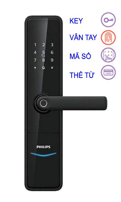 KHÓA VÂN TAY PHILIPS DDL603E