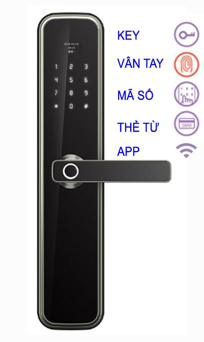 Khóa điện tử Kolman KM - S600FPC Wifi