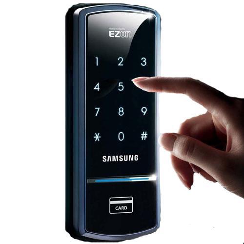 Khóa điện tử thẻ từ, mật mã samsung  SHS-1321