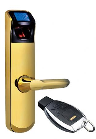 Khóa vân tay cao cấp ADEL- iDLK US3-6(Màu vàng)