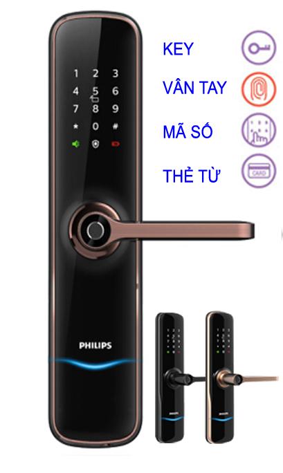 Khóa vân tay Philips PI