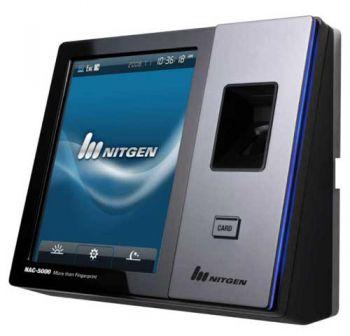 Nitgen NAC-5000R - Máy chấm công kiểm soát cửa bằng vân tay và thẻ cảm ứng