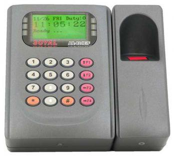 Soyal AR 821EF_OS - Máy chấm công kiểm soát cửa bằng vân tay và thẻ cảm ứng