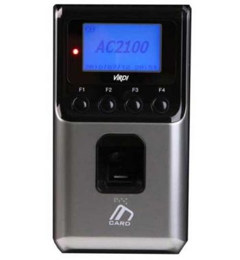 Virdi AC2100 - Máy chấm công - kiểm soát ra vào bằng vân tay và thẻ cảm ứng