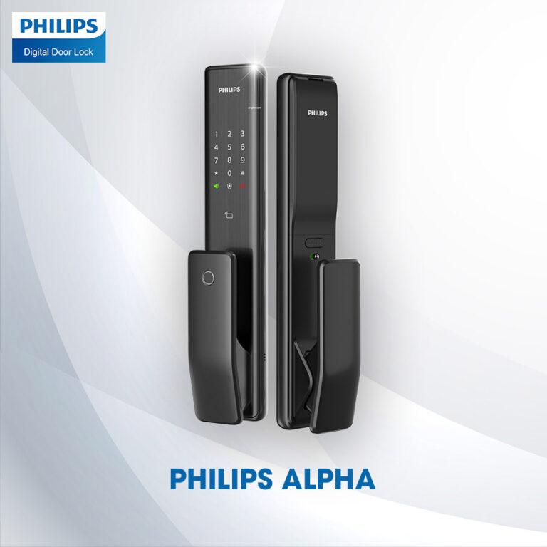khóa điện tử phillips alpha