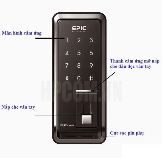 khóa vân tay epic
