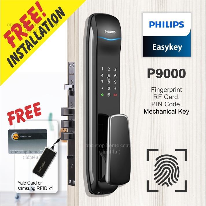 khóa cửa vân tay Philips