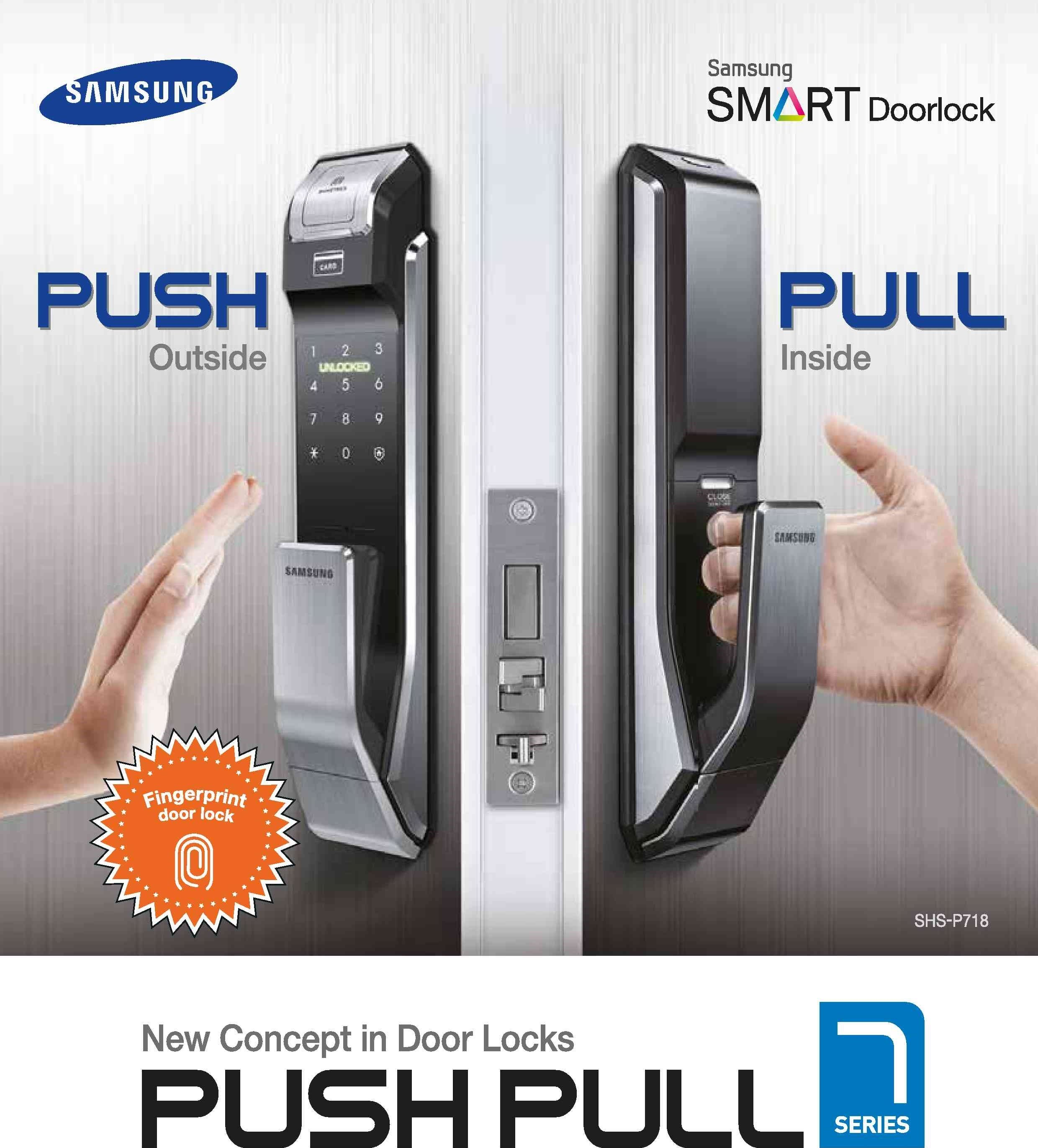 khóa cửa samsung p718