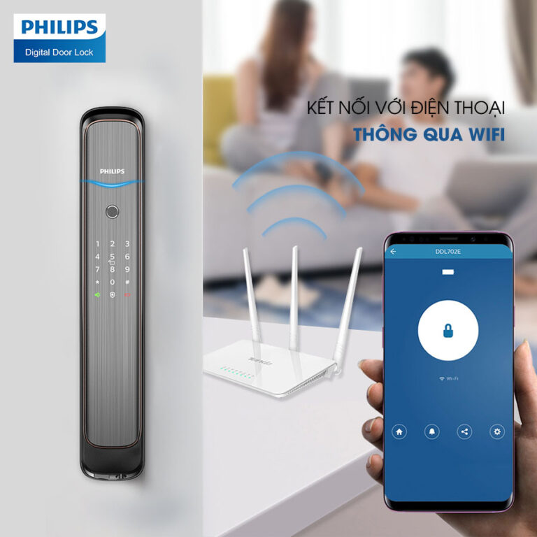khóa điện tử phillips