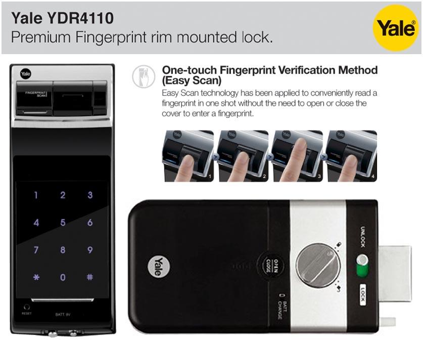 khóa điện tử yale ydr4110b1