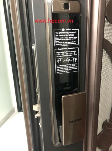 Khóa cửa vân tay Samsung SHP DP 609