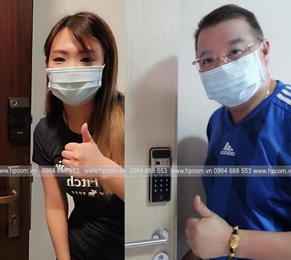 Khóa cửa Samsung P50