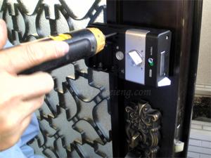 Hướng dẫn lắp đặt khóa điện tử Gateman F10