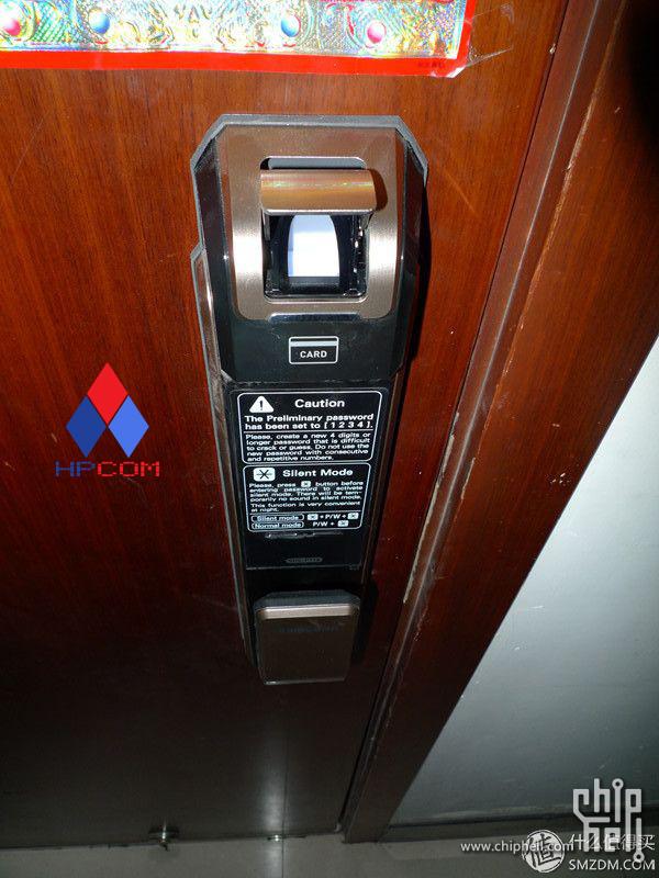 Khóa điện tử Samsung SHS P910- khóa cửa vân tay tốt nhất hiện nay