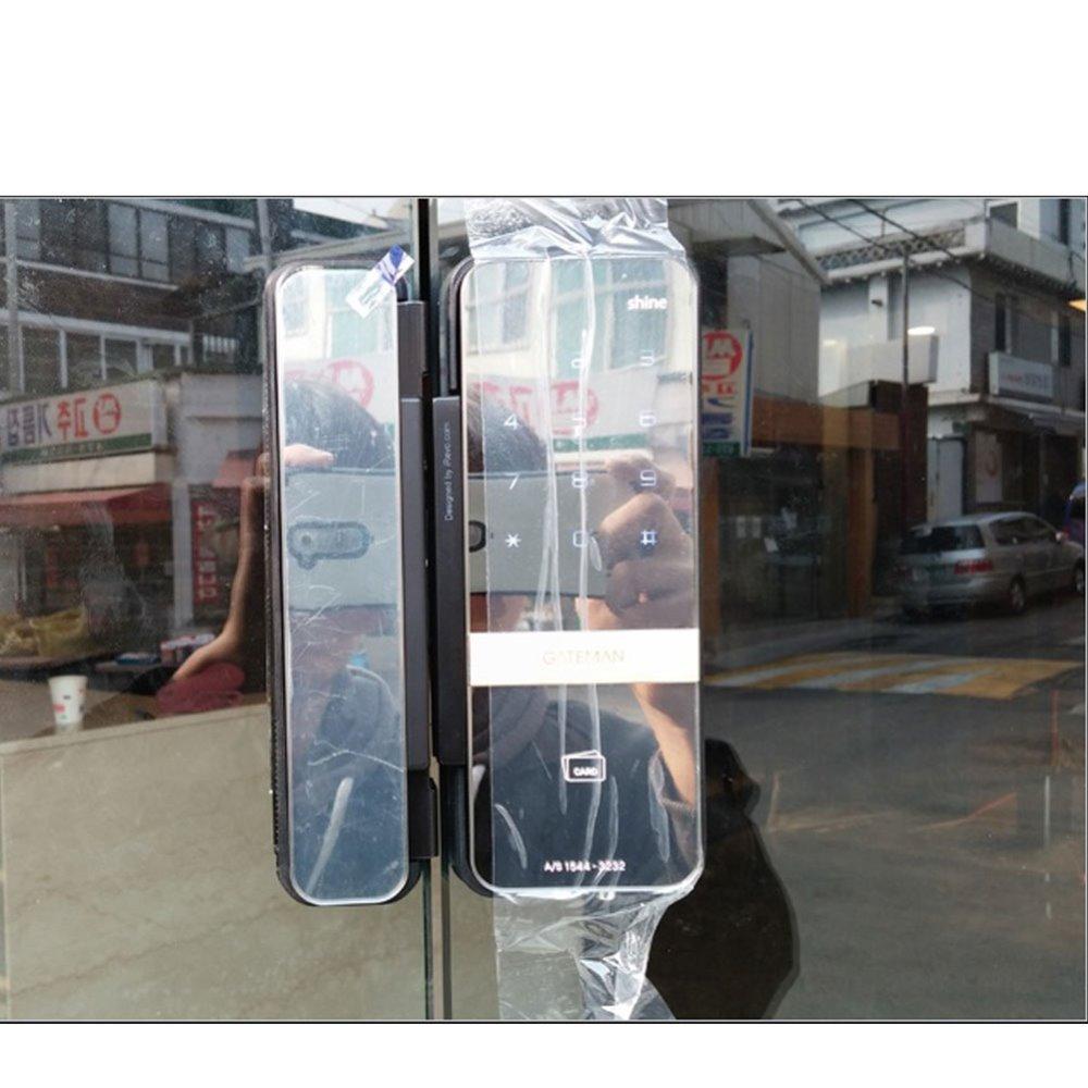 Khóa điện tử cửa kính HPCOM giải pháp an toàn mới cho cửa kính cường lực