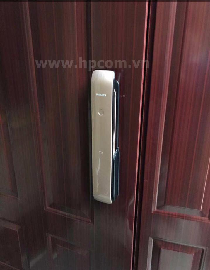 Lắp đặt khóa PHILIPS EASYKEY 9200 tại Ecopak Hưng yên
