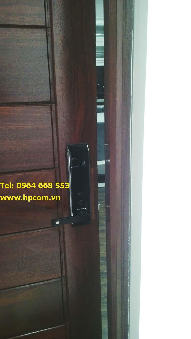 Lắp đặt khóa điện tử Epic 8000L tại Green Star , Phạm văn đồng, Hà Nội