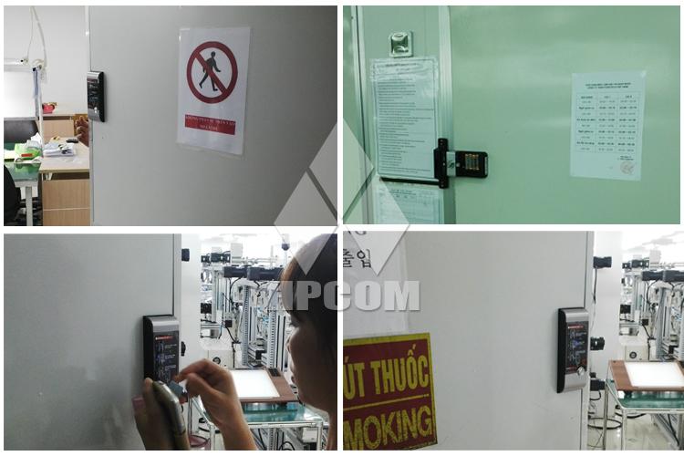 Lắp đặt khóa điện tử Gateman V20 tại khu công nghiệp Quang Minh Hà Nội