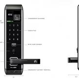 Hướng dẫn sử dụng khóa điện tử Epic 809L
