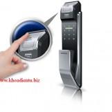 Hướng dẫn sử dụng khóa điện tử Samsung SHS p718