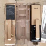 Lắp đặt khóa cửa điện tử Samsung H705 tại chung cư CT2 - Trung Văn