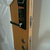 Lắp đặt khóa điện tử Gateman F100 khu đô thị Ecopark