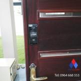 Lắp đặt khóa điện tử Samsung SHS 2920 tại khu đô thị An Khánh - HÀ Nội