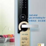 Lắp đặt và thi công khóa điện tử Samsung SHS 5050